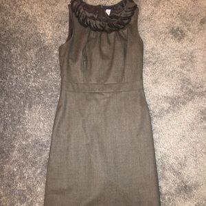 Gray slim dress